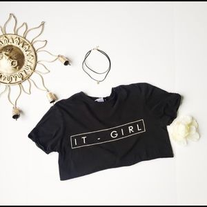 Misguided iT Girl Crop Top